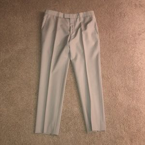 Alexander McQueen 3-Season Wool Tapered Pants.